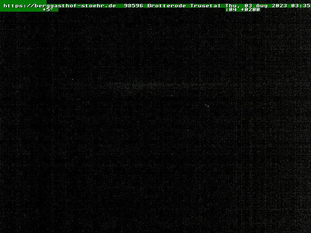 Webcam Skigebiet Tabarz - Inselsberg - Datenberg cam 2 - Thüringer Wald